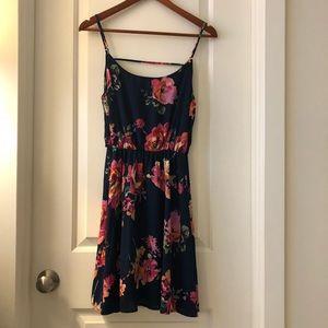 Everly Floral Skater Dress, L